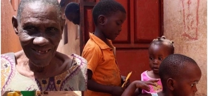 Heart of gold! Meet compassionate 70-year-old grandmother who is raising orphans