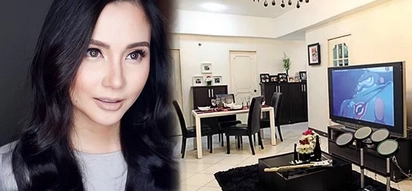 Lakas maka black&white! Mariel Rodriguez's glam condo unit is a must-see, her unique pieces are a far cry from her colorful & bubbly personality on TV