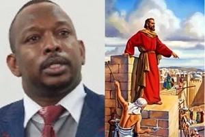 After Raila sensationally called himself Joshua, Mike Sonko picks a biblical name