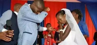 """Wapenzi waliofanya harusi ya KSh100 wawajibu """"wenye WIVU"""" waliopinga harusi yao ya kifahari"""