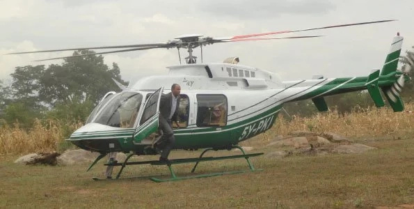 Helicopters set to make 2017 election the most expensive