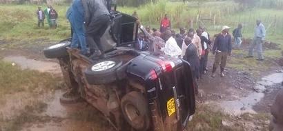 Mbunge ahusika katika ajali ya barabarani kwa mara ya pili (picha)