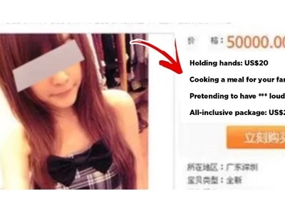 "A Woman Advertising Herself As A ""Girlfriend For Rent"" Caught The Attention Of The Authorities!"