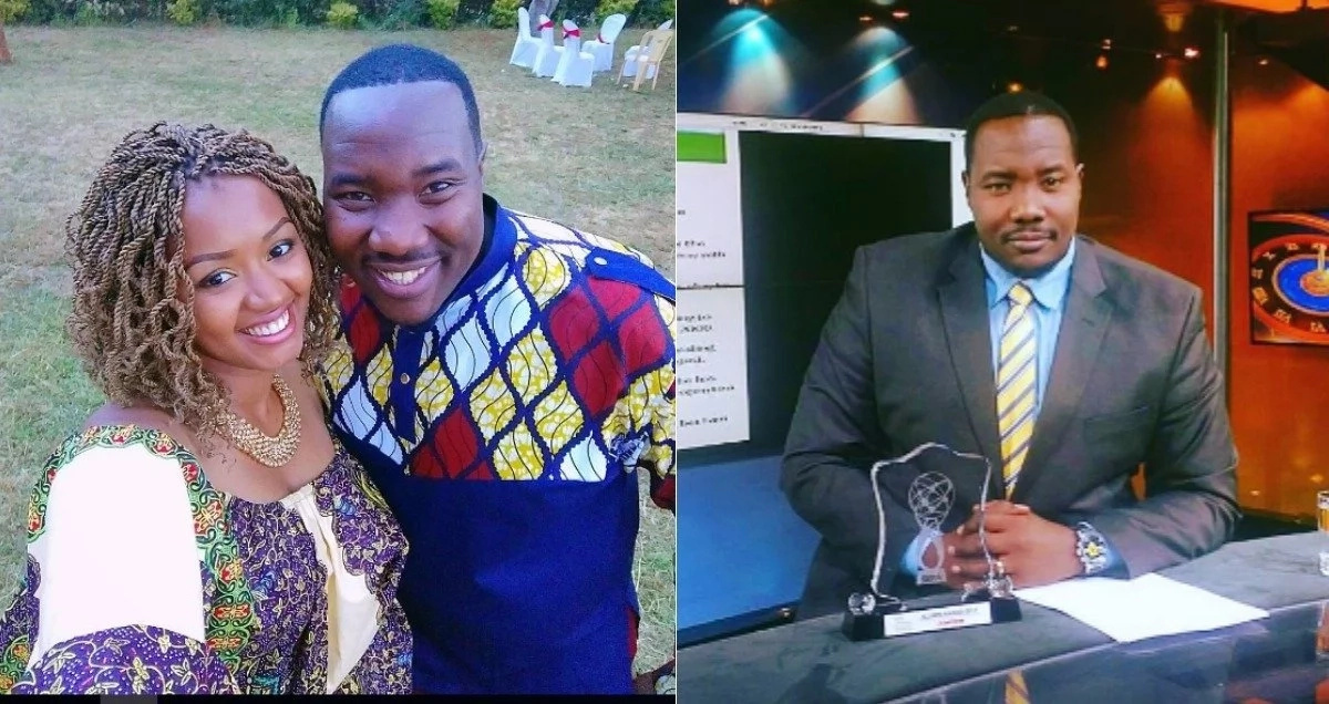 It was an absolute joy to watch her suffer- popular Citizen TV presenter Willis Raburu taunts his wife