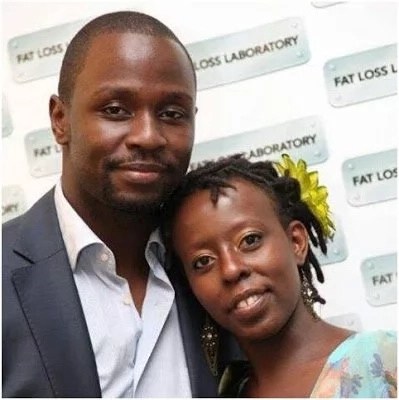 Adorable for TV star Allan Namu's beautiful wife and son