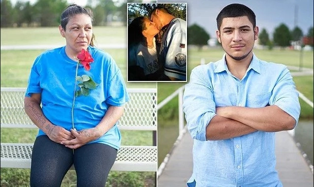 Forbidden love! Mother and son FALL IN LOVE 18 years after she gave him up for adoption (photos)