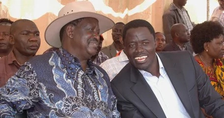 Raila hosts former MP arrested for drug trafficking