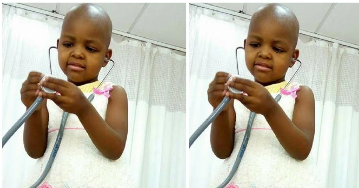 Kenyans raise over KSh 3 million for a 3-year-old girl who is fighting cancer