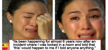"""I was locked in a room .."" Heart Evangelista reveals a bad experience from a person she won't name"