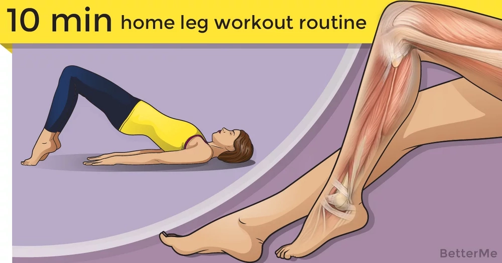 A 10-minute home leg-workout routine for women over 40