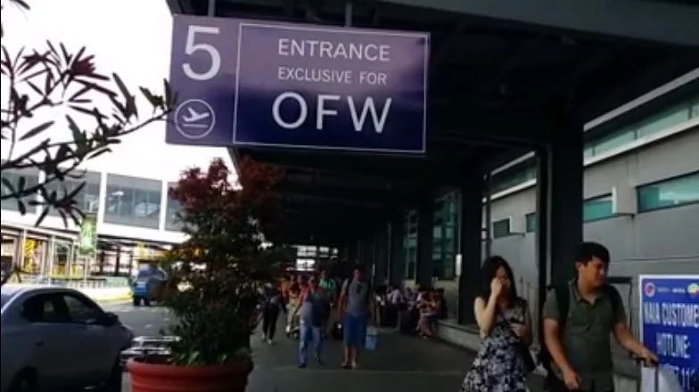 Government provides OFWs with exclusive entrance at NAIA