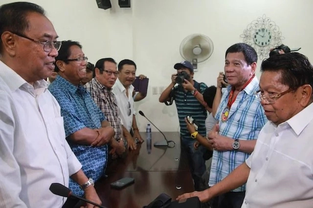 WATCH: Duterte promises to pass BBL to Moro leaders