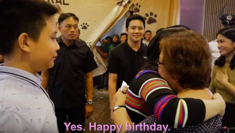 Kris Aquino gave an epic birthday surprise for her big fan Mommy Cynthia