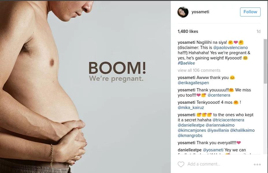 Paolo Valenciano: We're pregnant!