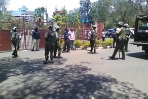 Chaos in Kisumu as youths storm county assembly (photos)