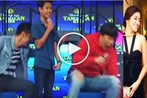 Napikon siya! Watch Robi Domingo push Vice Ganda off the stage for making fun of his breakup with Gretchen Ho!