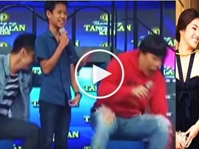 Watch Robi Domingo push Vice Ganda off the stage for teasing him about breakup with Gretchen Ho!