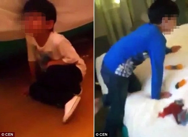 World's worst dad? Father makes fun of his little boys who accidentally got drunk