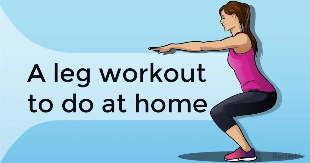 A leg workout to do at home