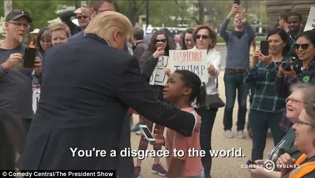 Did she just insult the president? Little girl tells 'Trump' he is a DISGRACE, social media explodes (photos)