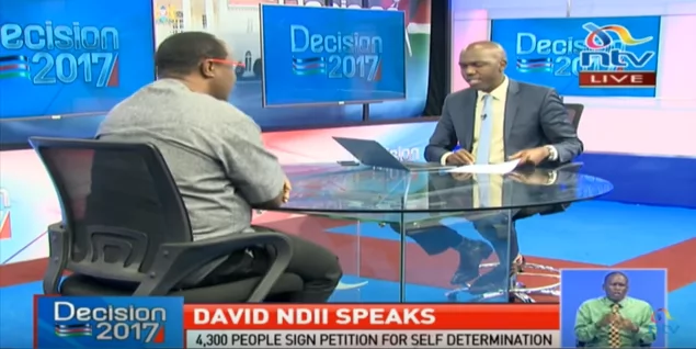NTV journalist Larry Madowo summoned by the Directorate of Criminal Investigations over an interview with NASA strategist David Ndii