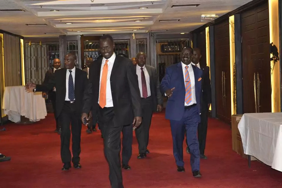 How Raila Odinga's KSh6,000 dinner went down