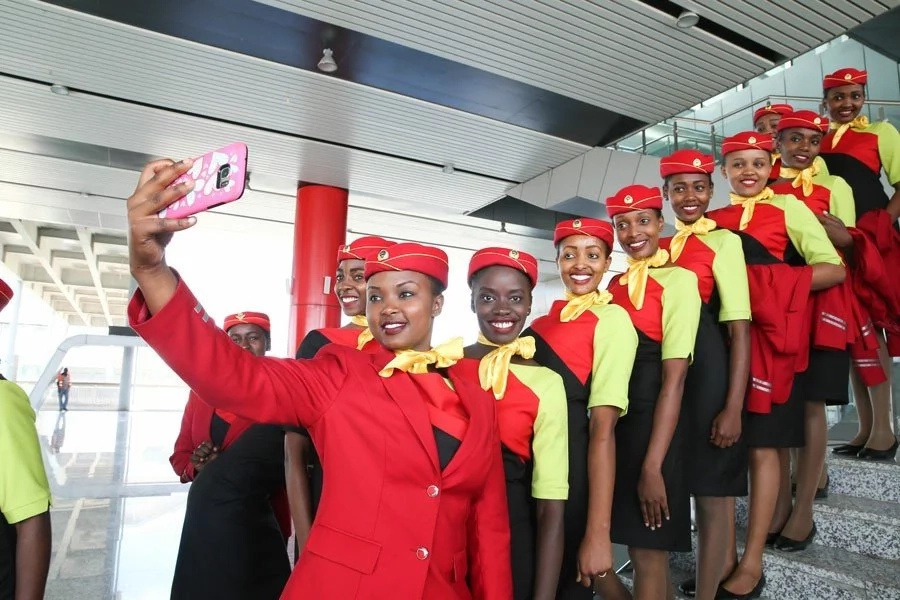 Photos of beautiful ladies who will serve SGR trains passengers