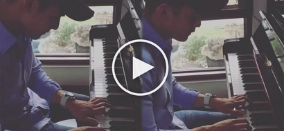 Netizens gush over Robi Domingo's piano take on 'Beauty and the Beast'