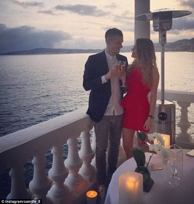 Man United midfielder Morgan Schneiderlin gets engaged