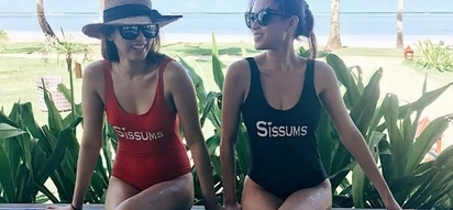 Sissums! Toni and Alex Gonzaga are sister goals in their twinning swimsuits