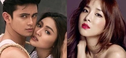Nakakainggit! People are losing it over Dara and JaDine's meetup in Korea