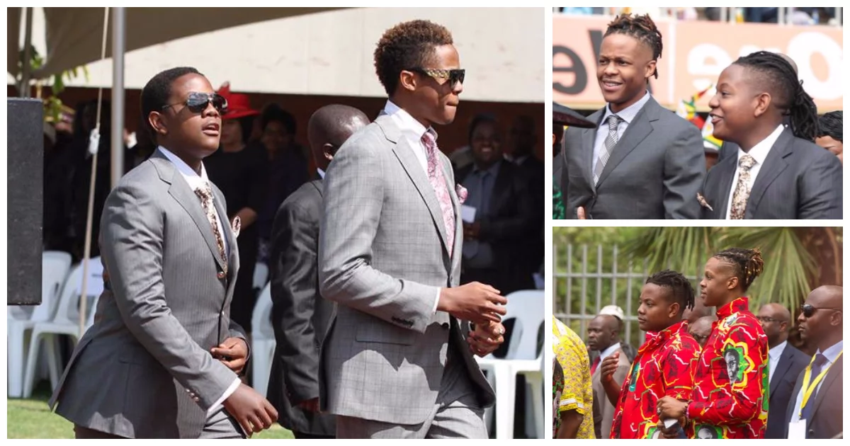 Mugabe's sons went on a partying spree as their embattled dad negotiated his future in Harare