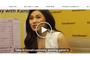 """Take it constructively""-Sarah on her bashers; Jokes about the advantage of social media"