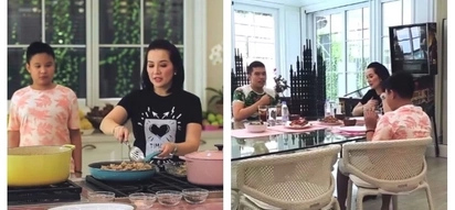 Kris Aquino gives an epic tour of her new house's luxurious kitchen and dining area: 'What do you like best about our new house?'