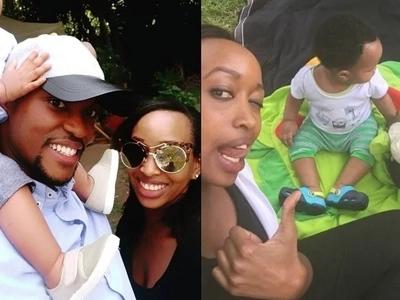 Mtangazaji wa Citizen TV Janet Mbugua amfanyia mtoto wake sherehe ya kitamaduni (picha)