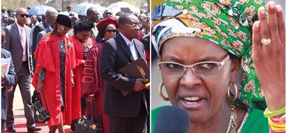 Zimbabwe's varsity students want Grace Mugabe's doctorate revoked and her husband to step down