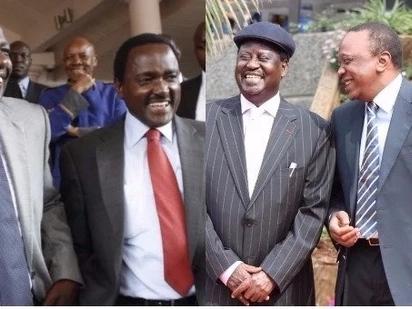 Uhuru na Jubilee akataa mazungumzo na Raila Odinga