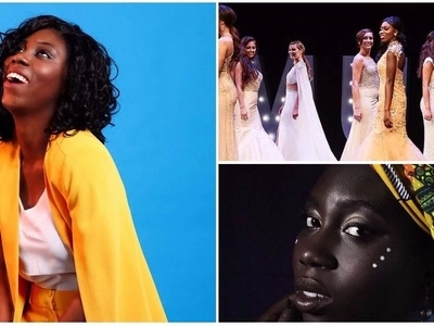 Dark-skinned beauty queen shares how pageant helped her feel proud of her natural beauty