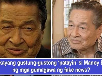 Kaloka na mga balita! Eddie Garcia 'namatay' daw noong gabi ng May 21, 'nabuhay' muli kinaumagahan