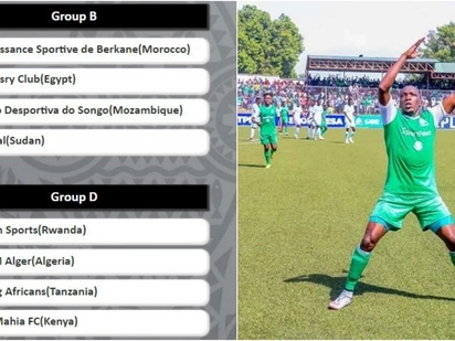 Gor face familiar East African rivals Yanga in CAF group stages