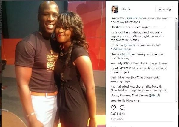 Citizen TV's Lilian Muli exchange with her Ugandan 'friend' on Istagram raises eyebrows