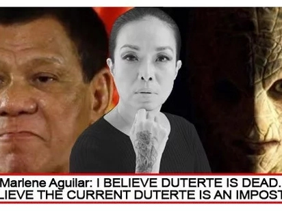 Walang naniwala? Netizens laugh off Marlene Aguilar's claim that current President Duterte is a reptoid alien