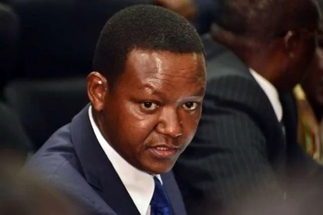 Alfred Mutua is wondering why NASA is going to Machakos and not Makueni or Kitui