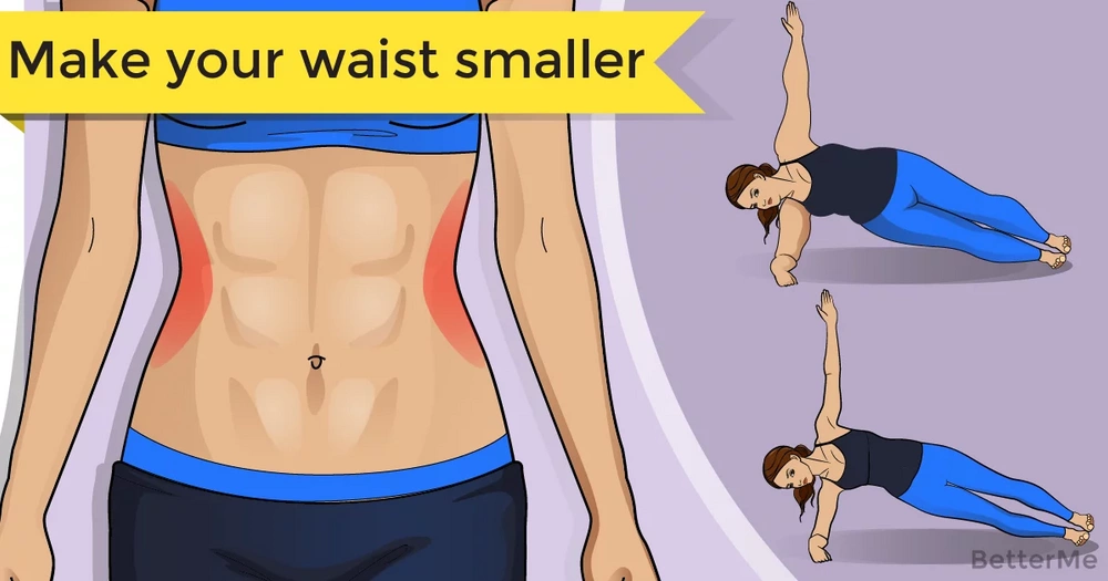 Tips that can make your waist smaller