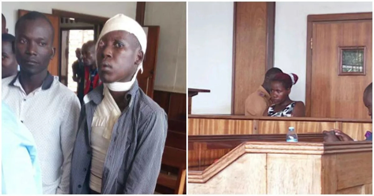 Man, 24, who suffered acid attack from his wife wants from court the same punishment for his wife