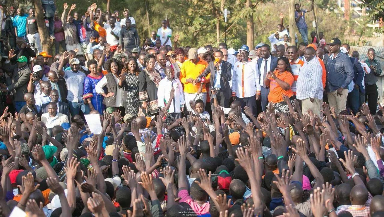 NASA tables 9 demands ahead of scheduled repeat presidential contest between Uhuru and Raila