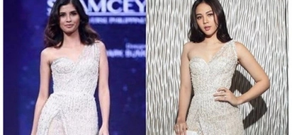 Kanino mas bagay? Shamcey Supsup's gown is similar to what Janella Salvador wore at Star magic Ball 2017