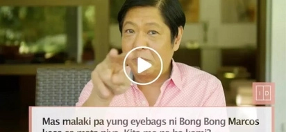 Bongbong Marcos gamely answers bashers in this viral video