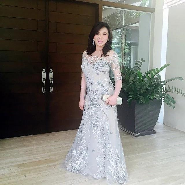 Vicki Belo gives fans a sneak peek of her Michael Cinco wedding gown