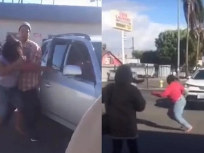 Two Crazy Black Women Try To Murder Each Other By Crashing Cars